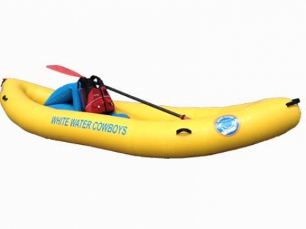 Rogue River Inflatable Kayak (Single Day)